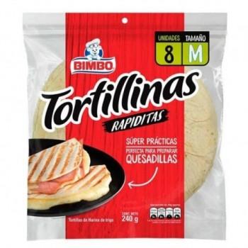 Tortillas Bimbo x 8und