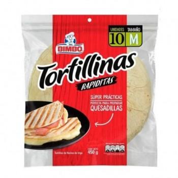 Tortillinas Bimbo x 10...