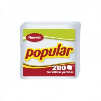 Servilleta Popular x 200 U