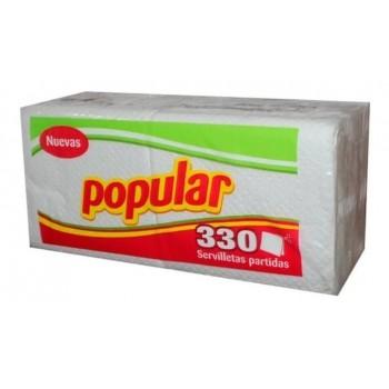 Servilletas Popular x 330 und