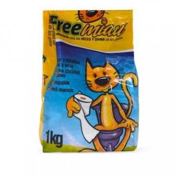 Arena Para Gato Free Miau x 1k